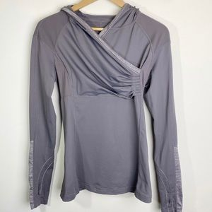 Lululemon Run For Your Life Pullover Grey Size  6